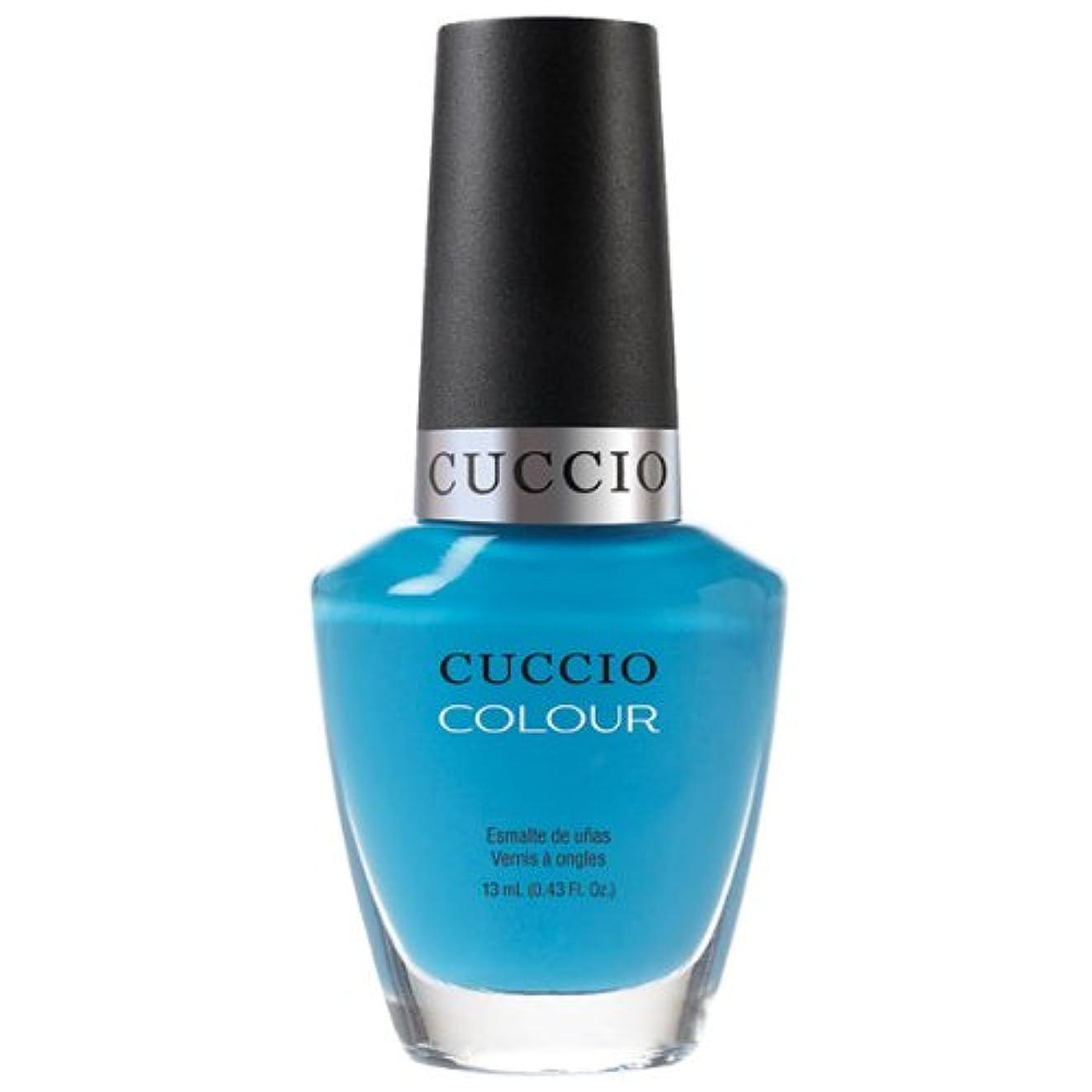 フルート感謝変化Cuccio Colour Gloss Lacquer - St. Bart's in a Bottle - 0.43oz / 13ml