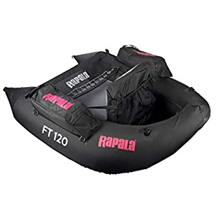 Ft120 Belly Boot von Rapala Schwarz Matt 145cm