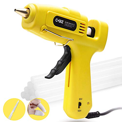 Hot Glue Gun High Temp-Cobiz Full Size (Not Mini) 60/100W Dual Power...