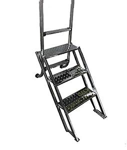 Dahlia Escalera de Piscina Adaptable a su Escalera de 4 peldaños de Acceso facil para Personas con Movilidad Reducida