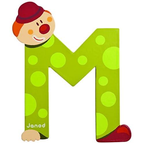 Janod J04554 - Clown Letter M