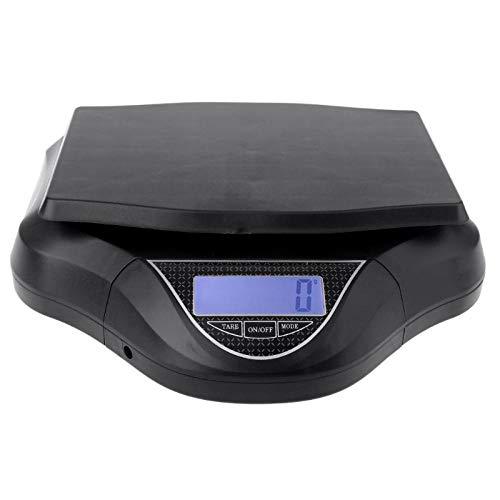 30kg / 1g afneembare elektronische weegschalen Hoge precisie digitale keukenweegschaal voor postpakket Lab-industrie zwart