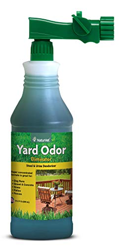 NaturVet – Yard Odor Eliminator – Eliminate Stool and Urine Odors from Lawn and Yard –...