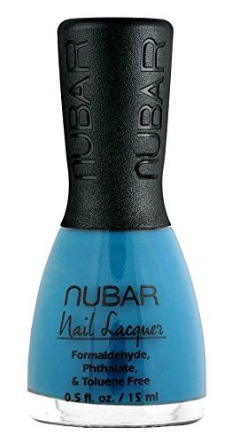 Nubar Mode Nagellack, hot blue, 1er Pack (1 x 15 ml)
