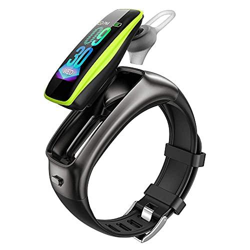 GPWDSN Recordatorio de Llamada de Bluetooth de la Pulsera Inteligente del Reloj Inteligente de la Moda de los Deportes de la Salud