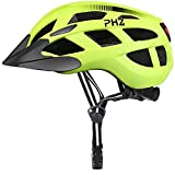 PHZ. Adult Bike CPSC Certified Helmet with Rechargeable Led Back Light/Detachable Visor Ideal for Road Ride Mountain Bike Bicycle for Men and Women … bicycle lights rechargeables May, 2021