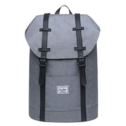 KAUKKO Schule & Freizeit Moderner Tagesrucksack aus Polyester für Uni Büro - Daypack für Laptop, 13L