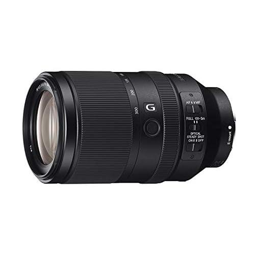 Sony SEL-70300G Teleobiettivo con Zoom 70-300 mm F4.5-5.6, Serie G, Stabilizzatore Ottico, Mirrorless Full-Frame, Attacco E, SEL70300G