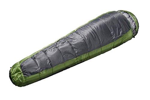 Xin.S Momie Sac De Couchage Sac Compressible Léger Imperméable Adapté Pour Le Camping Sac à Dos La Randonnée. Imperméable,Green-195*75cm