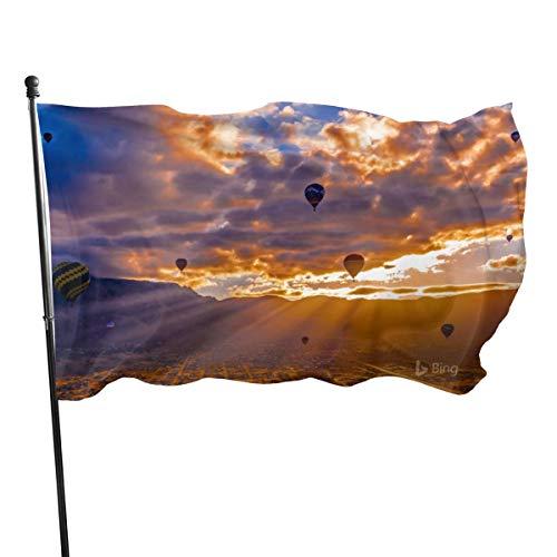 USA Guard Vlag Banner Welkom Vlaggen Bloed De Albuquerque Internationale Ballon Fiesta Albuquerque Nieuwe Garde voor Vakantie Patio Verjaardag Decoratie 3x5 Ft