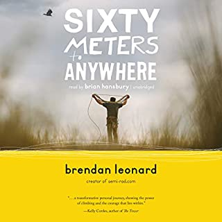 Sixty Meters to Anywhere audiobook cover art