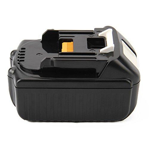 Joiry 18V 5.0Ah Li-ion Batería para Makita BL1815 BL1830 BL1840 BL1850 194205-3 LXT400