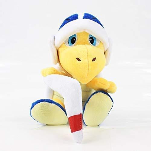 LINQ Plüschspielzeug 18 cm Super Mario Bros Plüsch Koopa Hammer Bumerang Gefüllte Plüschtier Puppe Kinder Geschenke Qianmianyuan