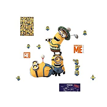 FATHEAD Minions  Golf-Large Officially Licensed Removable Wall Decal