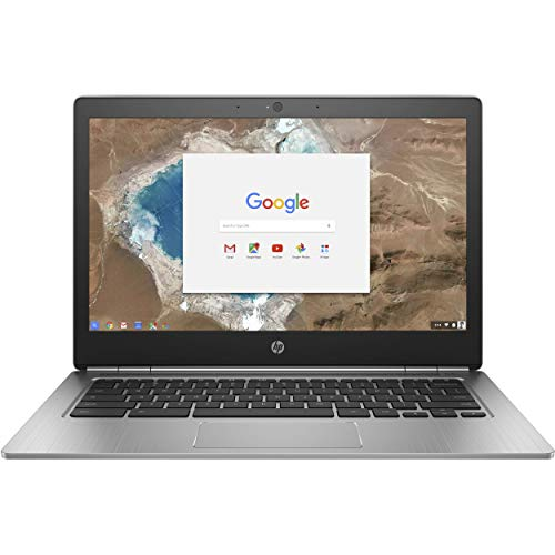 (Renewed) HP Chromebook 13 G1 13.3' QHD+ 3200 x 1800 Laptop Computer for Business Student, Intel Core m5-6Y57 up to 2.8GHz, 8GB RAM, 32GB eMMC, Remote Work, Chrome OS, SPMOR Mousepad + 32GB SD Card