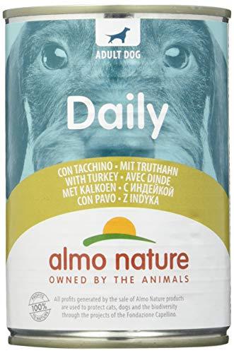 almo nature Dailymenu con Tacchino Umido Cane Premium - Confezione da 24 x 400 g