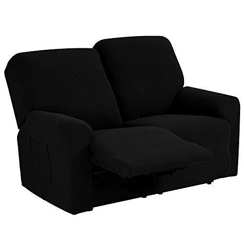 TIANSHU Funda reclinable para sofá de Dos plazas, 6 Piezas