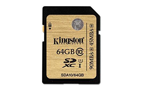 Kingston Digital 32GB SDHC Class 10 UHS-I