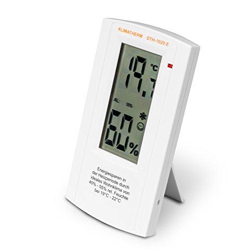 Klimatherm Digitales Thermometer Hygrometer Schimmel Vorsorge Energie Sparen Wohnklima Messgerät DTH-1020-E 3 Jahre Garantie (1)