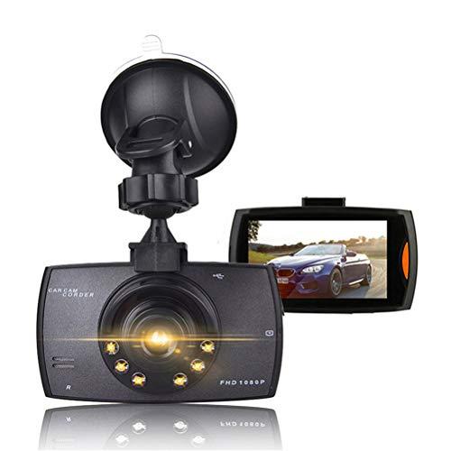 Flashing G30 Registrador de conducción Coche DVR Dash Dash Camera Full Full 1080P 2.2'Registro de Ciclo Night Vision Wide Angge Dashcam Video Registrador (Size : 32G TF Card)