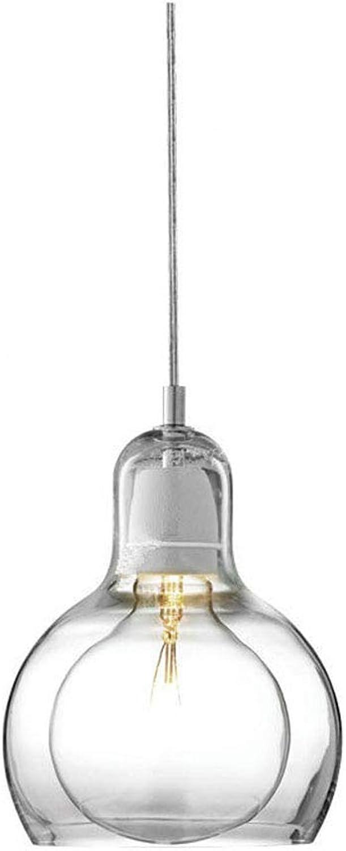SEEKSUNG Kronleuchter,Glühbirne Pendelleuchte -18cm X 23cm,S