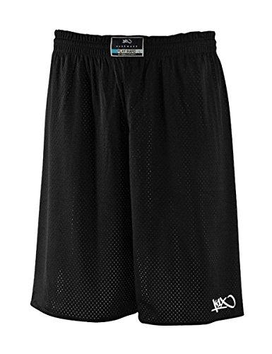 K1X Hardwood rev Practice Shorts mk2 schwarz/weiß