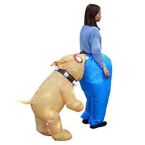 GaLon Cosplay rekwisieten pak, Spoof hond beet kont leuk kostuum schattig cartoon opblaasbare kleding broek opblaasbare school Stage rekwisieten