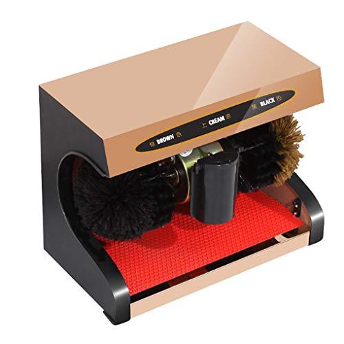 WSWJQY Pulidora eléctrica de Zapatos Función de inducción Totalmente automática Voltaje 220V...