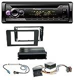Pioneer DEH-S220UI 1DIN MP3 AUX USB CD Autoradio für Audi A3 8P 06-12 Symphony Infinity Aktivsystem