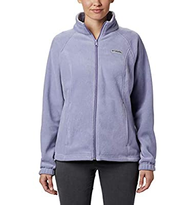 Columbia womens Benton Springs Fleece Jacket, Dusty Iris, X-Large US