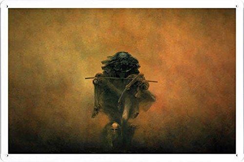 Metall Poster Blechschilderplatte Blechschild Plakat ALE06490 Retro Weinlese Kunstdrucke by hamgaacaan (20x30cm)