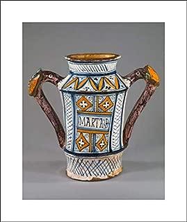Italian, Faenza Culture - 16x20 Art Print by Museum Prints - Apothecary jar (albarello)