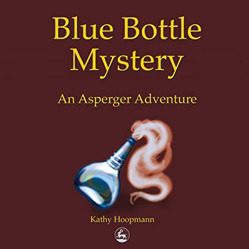 Blue Bottle Mystery audiobook cover art