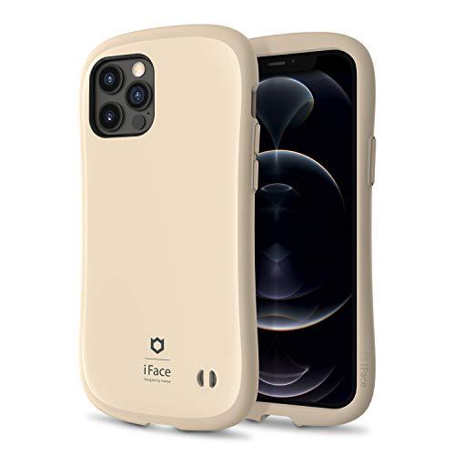 iFace First Class Serie Café Caja de Teléfono Diseñado para iPhone 12 / iPhone 12 Pro – Híbrido Lindo [Cobertura Dura + Parachoque] [Probado contra Caídas] - Café Latte