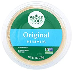 Whole Foods Market, Original Hummus, 8 oz