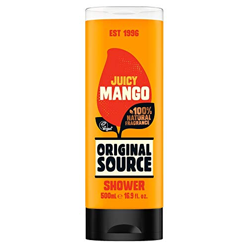 ORIGINAL SOURCE Juicy Mango XL Duschgel Shower Gel XL 500 ml vegan