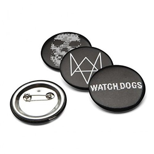 ThinkGeek Watch Dogs Pins