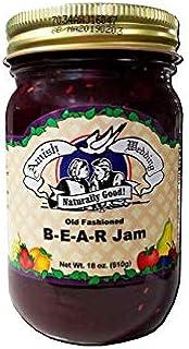 Amish Wedding Old Fashioned B-E-A-R Jam - 18 oz - 2 Jars