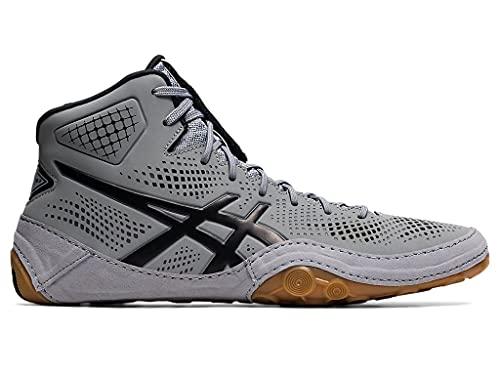 ASICS Men's Dan Gable Evo 2 Wrestling Shoes, 9.5, Sheet Rock/Black