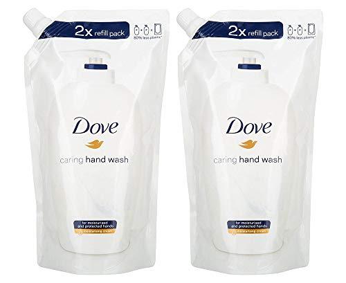Dove Beauty Cream Hand Wash Refill - 16.9 Fl Oz / 500 mL x 2 Pack