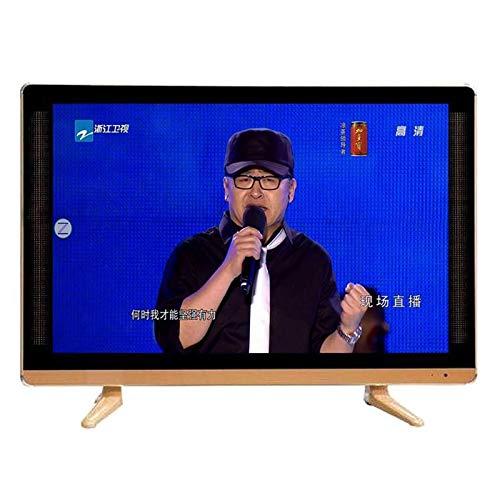 YILANJUN TV Televisión Televisor Smart Internet LCD de Alta Definición de Red WiFi Inteligente, USB, Calidad de Sonido Envolvente, Templado a Prueba de Explosiones (17, 19, 22, 24, 26 Pulgadas)