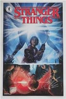 SDCC 2018 SIGNED Poster STRANGER THINGS by JODY HOUSER