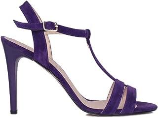 Loggalin 520004 827 Kadın Mor Topuklu Sandalet 35