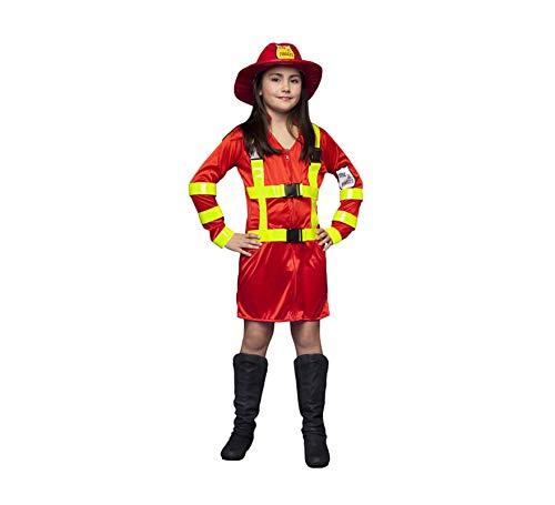 Disfraz de Bombera para niñas en varias tallas