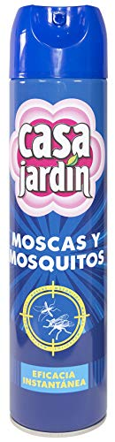 Casa Jardín   Aerosol Insecticida  Elimina Moscas, Mosquitos, Polillas, Avispas y otros Insectos   Eficacia Instantánea   Contenido: 6 Paquetes 1x600 ml
