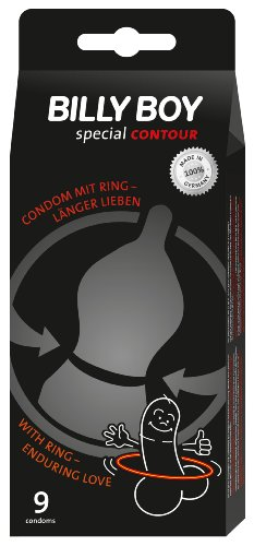 Billy Boy special CONTOUR Kondome 9er Packung - Mit Ring