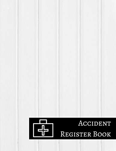 Accident Register Book