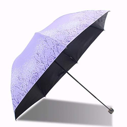 Regenschirm Extra große übergroße belüftete Winddichte wasserdichte Stick Regenschirme, Sonnenschutz UV Regenschirm (Farbe: