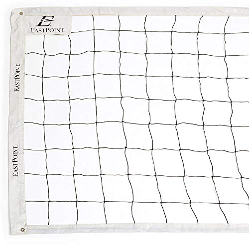 EastPoint Sports Replacement Volleyball Net with High Strength Cable, Reinforced Side Tapes, and Weather Resistant Material - Poles Not Included-New Version
