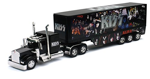 New Ray 1/32 Kenworth W900 Kiss Collection LKW 1:36, 810394, schwarz